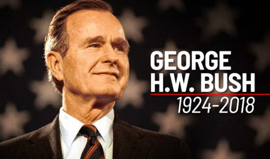 A Point of Light:   A Tribute to President George H.W. Bush